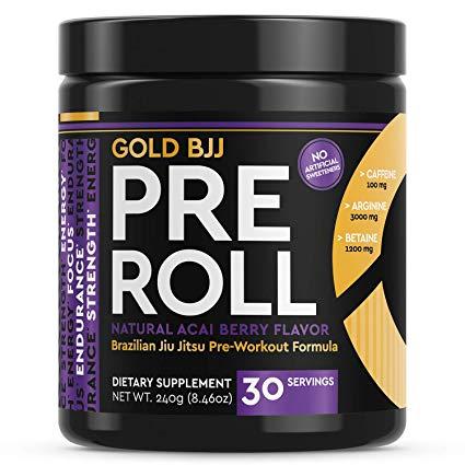 Gold BJJ Pre-Roll Supplement