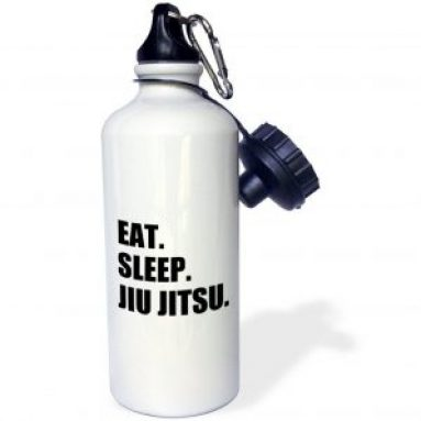 Eat. Sleep. Jiu Jitsu. Sports Water Bottle